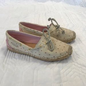 Woman's Sherry Espadrille shoes, size 7.5